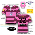 Pink Hooped Jersey