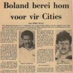 Boland vs Cities