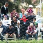Juandi and spectators