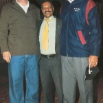 Nazeem and Son Salmaan with Peter De Villiers