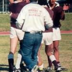 Thaamir, Aslam, Adnaan, Dikie and Zareer celebrates after beating Young Stars 1998