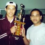 Thaamir Na Bakes early 2000s league trophy