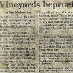 Vineyards vs Gardens