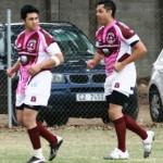 Adlee and Thaamir warm up (2)