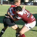 Junaid tackle