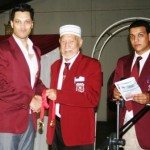 Thaamir, Yusuf Moerat and Aslam