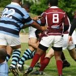 Thaamir tackle with Mariona nd Zareer
