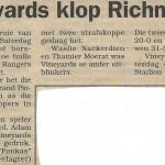 Vineyards vs Richmond mid 2000's